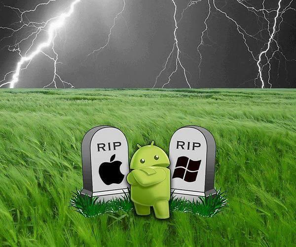 Rip Windows and Apple