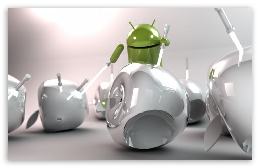 Android Apple war