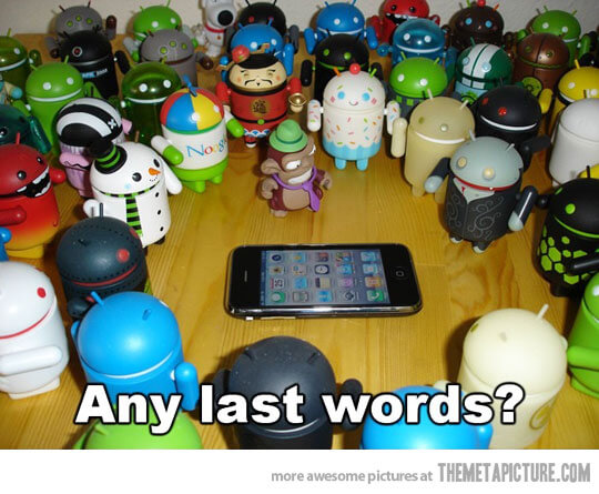 Last words for Apple