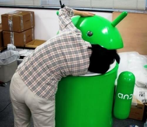 Head inside Android bin