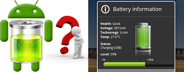 android phones battery life