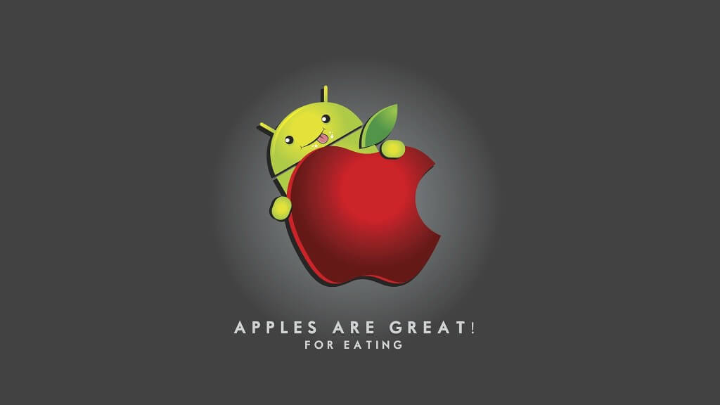 Android eats away Apple