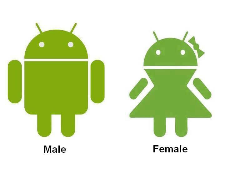 Android female version