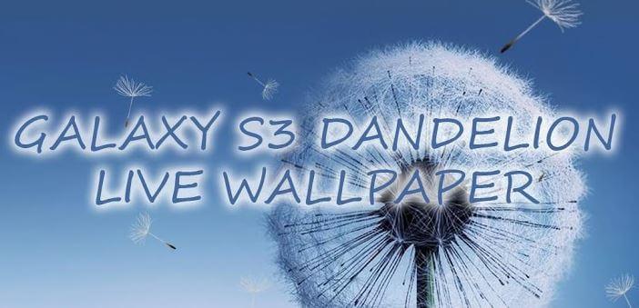 Galaxy S3/S4 Live Wallpaper