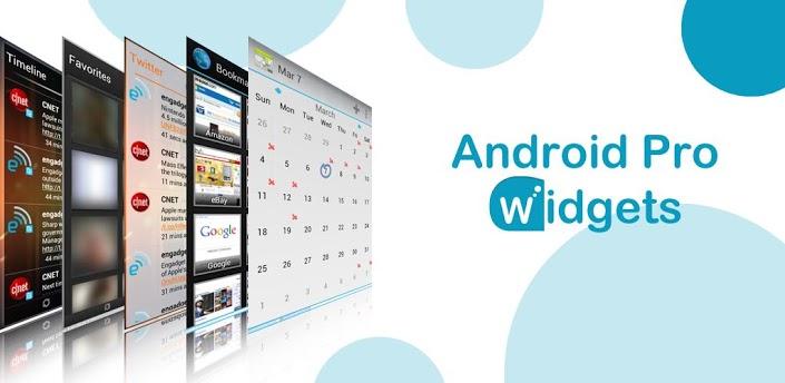 Android Pro Widget