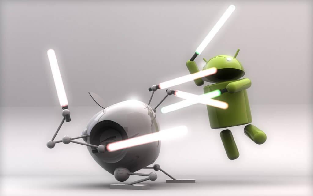 'Androids vs. iPhones vs. Blackberry', The Battle on Twitter