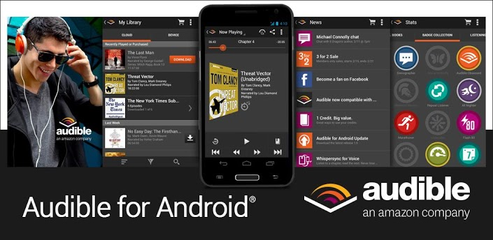 Amazon's Book Reader App, Audible, Gets Updated