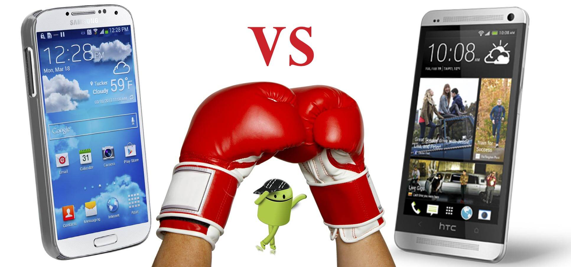 Authentic Review of Samsung Galaxy S4 vs HTC One