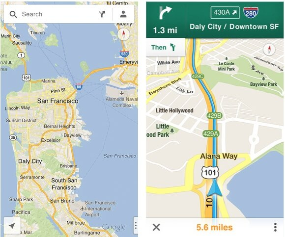 New Google Apps Map