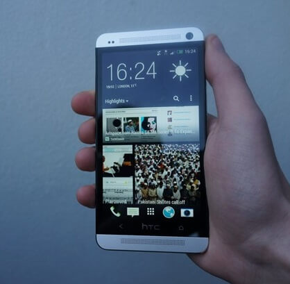 HTC One Look and feel