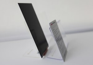 Slimmest Smartphone Display