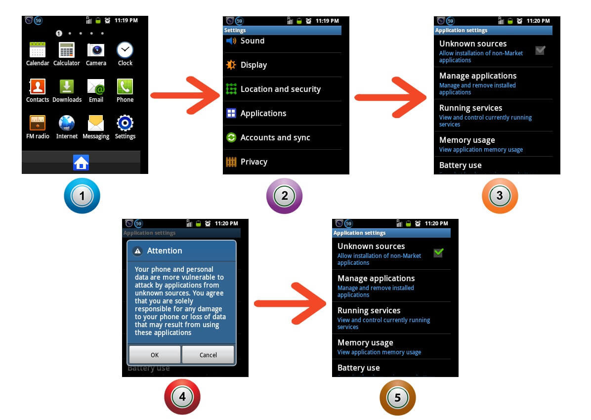 How to Enable Third Party Apps Installation on Android Phones