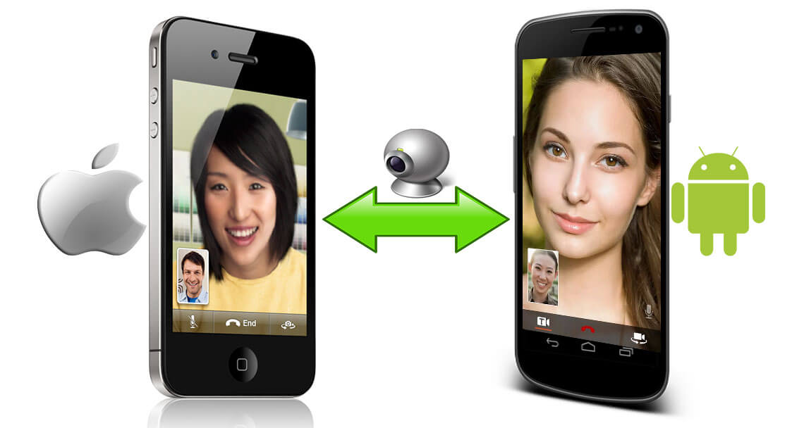 how to make video calls between android and iphone. Black Bedroom Furniture Sets. Home Design Ideas