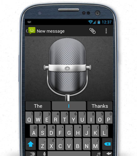 Swiftkey Keyboard for Android - Talk to the Keyboard