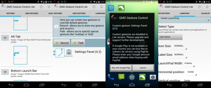 GMD Gesture Control