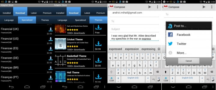 AtapTXT Keyboard Android