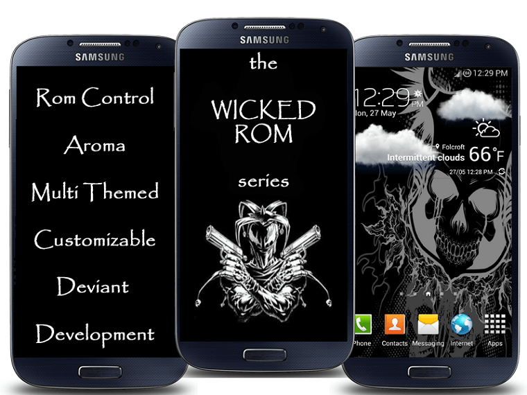 Wicked ROM galaxy s4