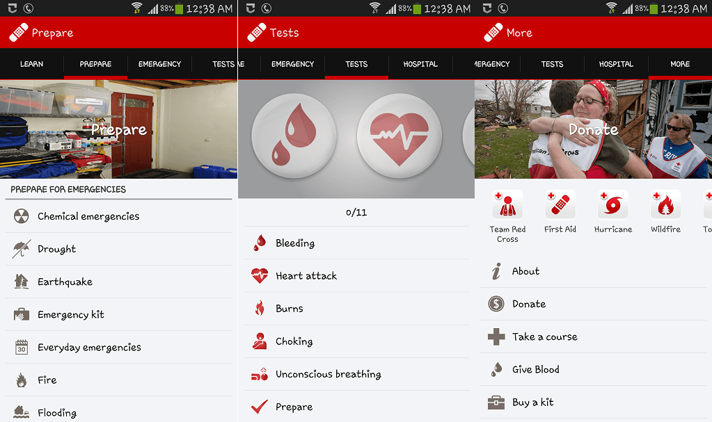 First Aid Red Cross-Best Android Medical App