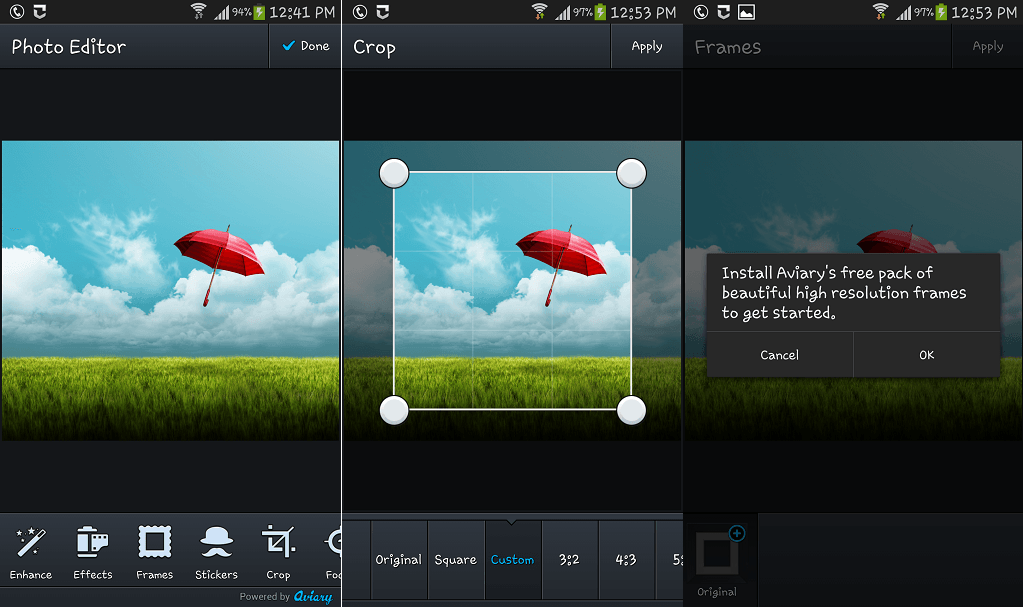 Photo Editor Pro photo editing app for Android