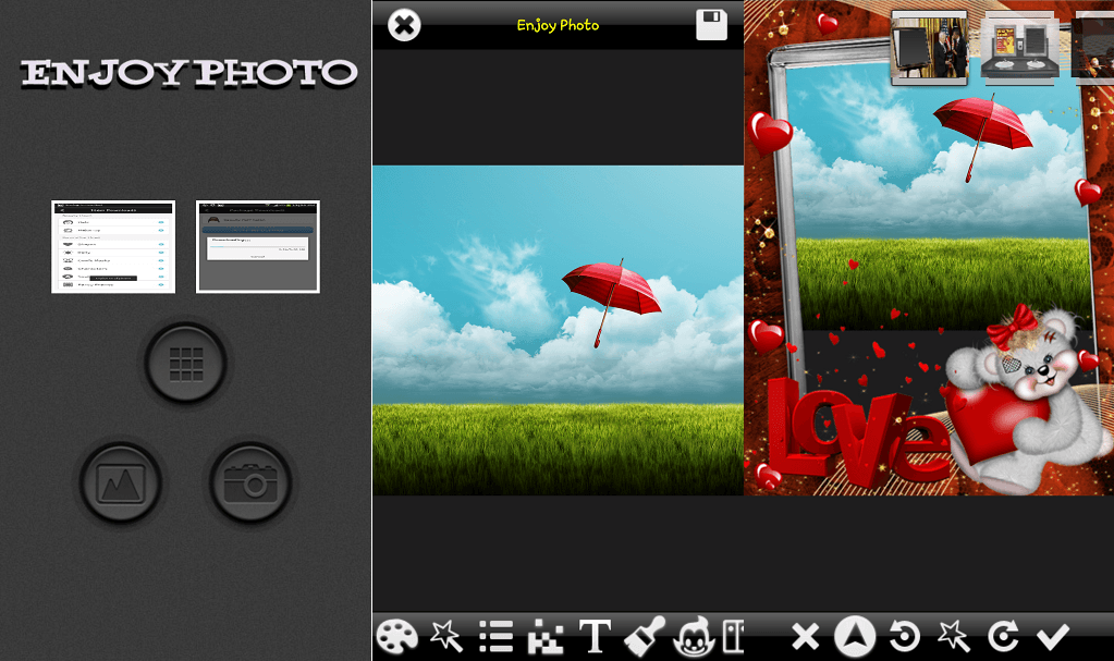 Photo Effects Pro photo editing app for Android