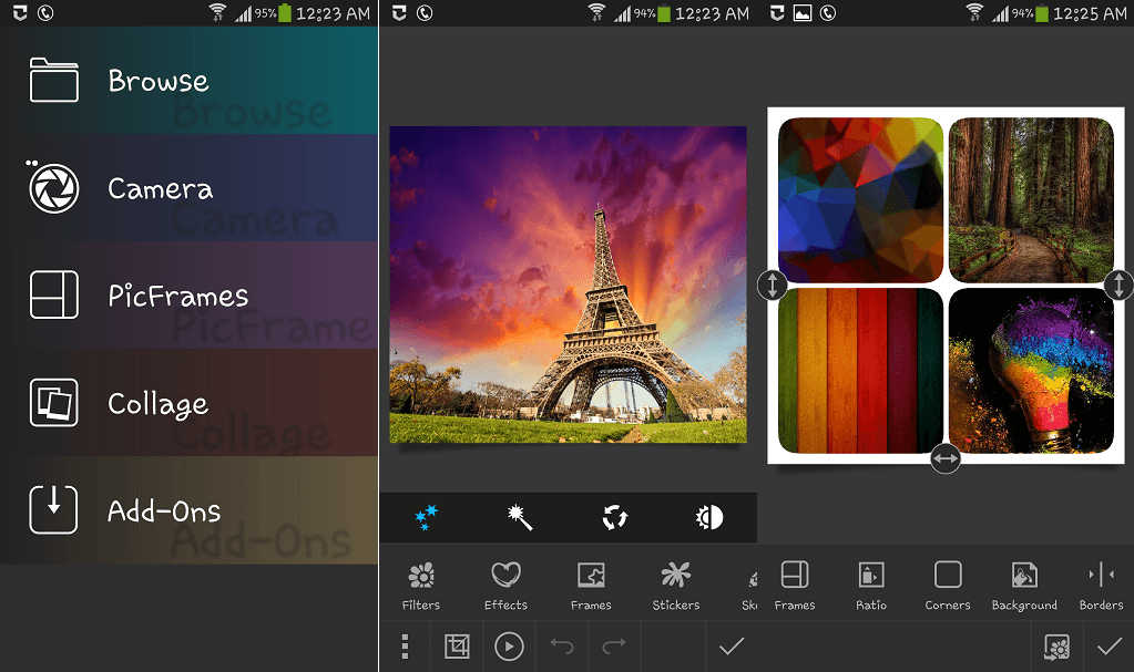 Photo Studio photo editing app for Android