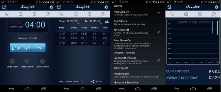Sleep Bot Screenshots Android