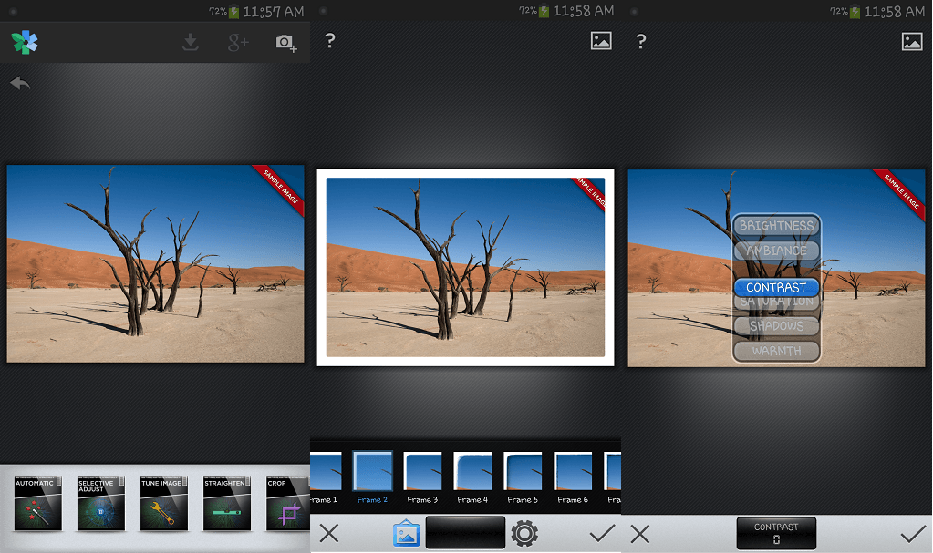Snapseed Best Photo Editing App for Android
