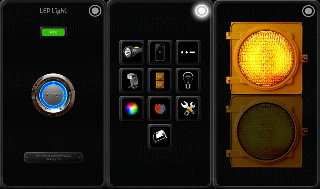 Led Flashlight Schematic Led Flashlight Application