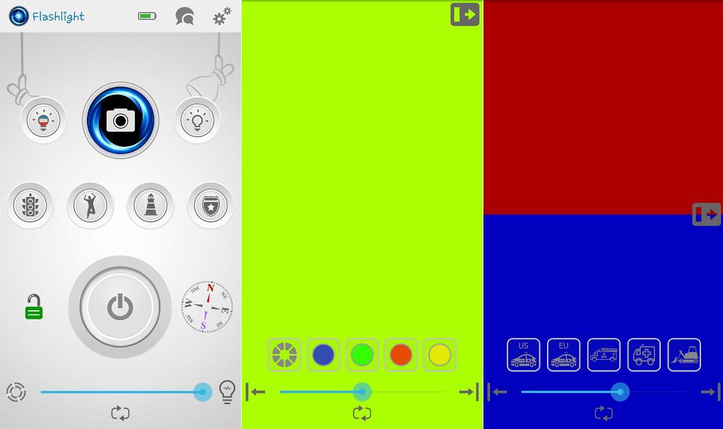 amazing flash flashlight app for Android