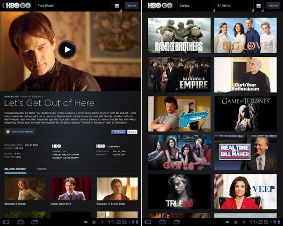 how to tv on android to bring the with you
