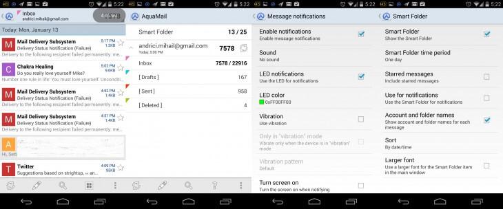 Aquamail Android