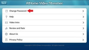 Change Password AtHome