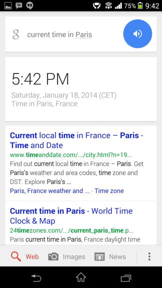 Current Time in Paris