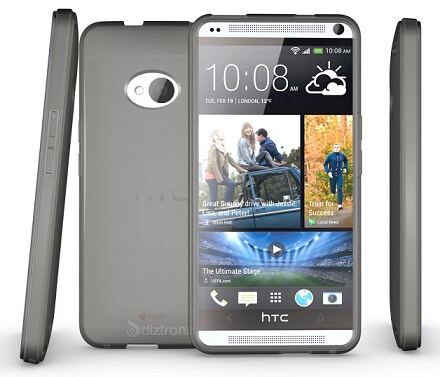 Diztronic Matte HTC One back case