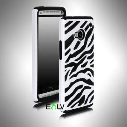 E-LV Zebra HTC One case
