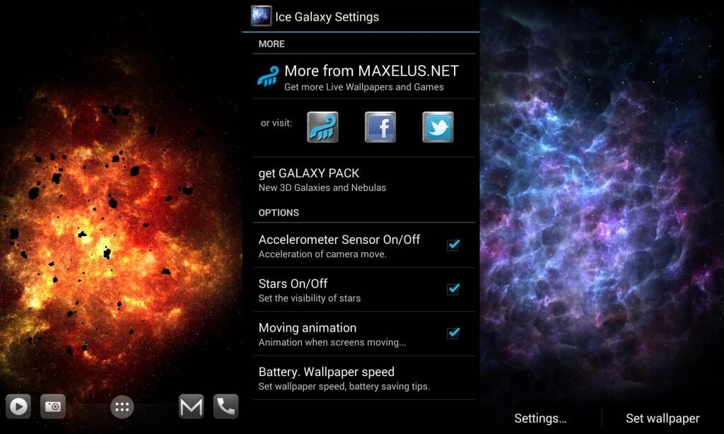 galaxy pack app