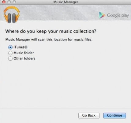 Google Music Manager iTunes