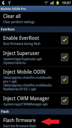 flash firmware