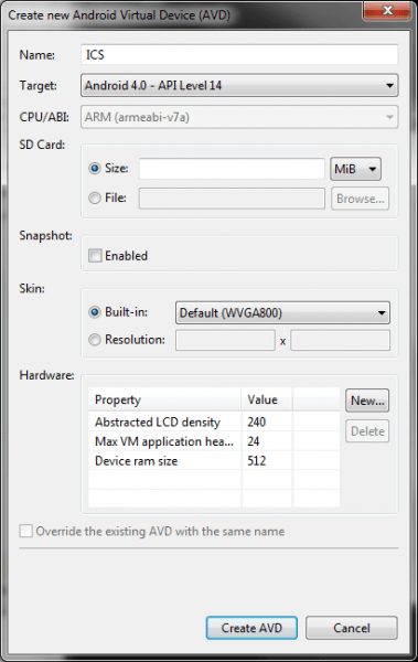 settings to play Android games on PC computers