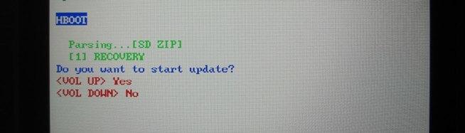 Install update bootloader
