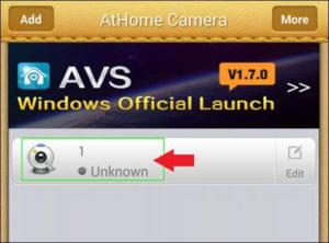 Select Camera Athome