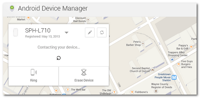 Track location Android Device Manager