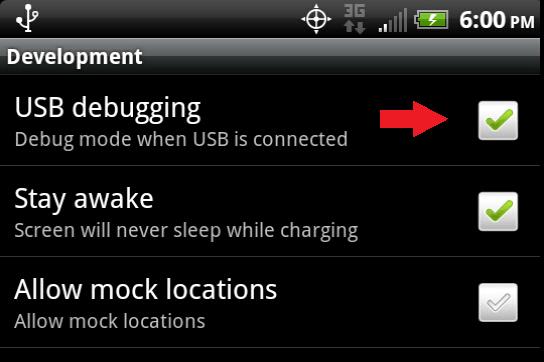 USB Debugging
