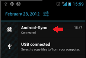 Android-Sync Notification
