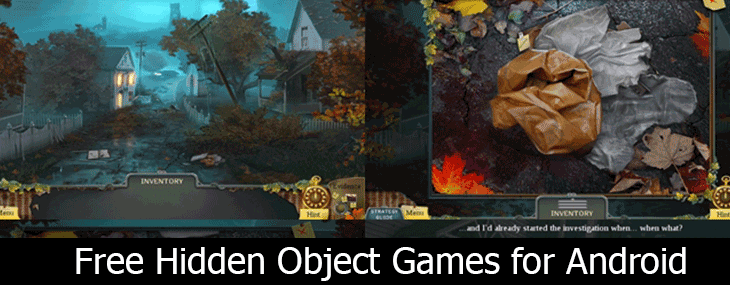 free hidden object games for Android