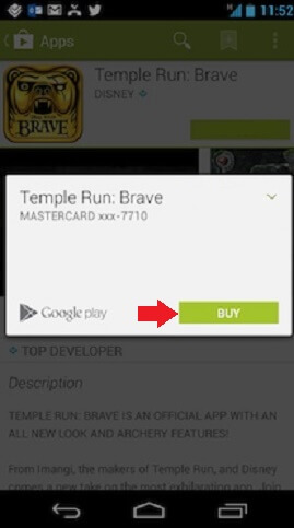 how to use google play redeem
