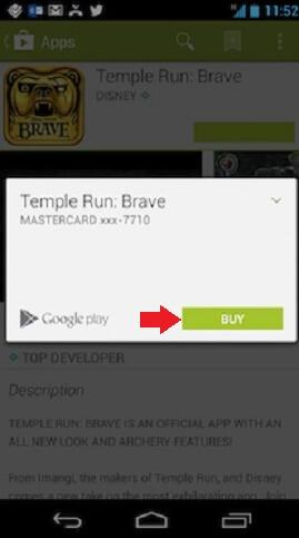 Google Play Buy