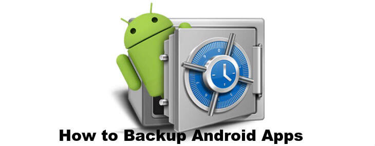 how to backup Android apps