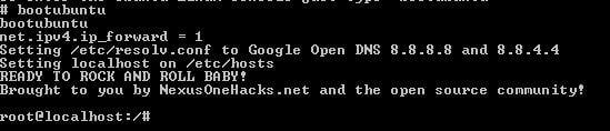 Ubuntu Start Command
