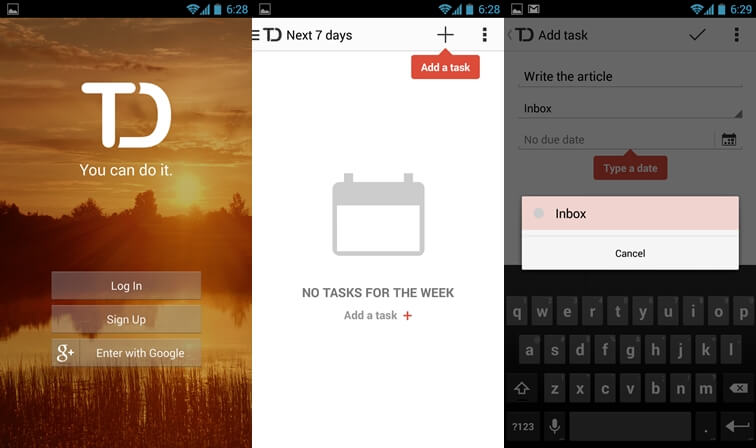 10 best to do list app for android